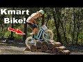 Can a Kmart bike survive Mountain Bike Trails?