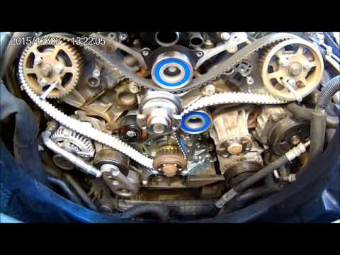 Discovery 3 2.7TDV6 Timing Belt and Oil Pump Change