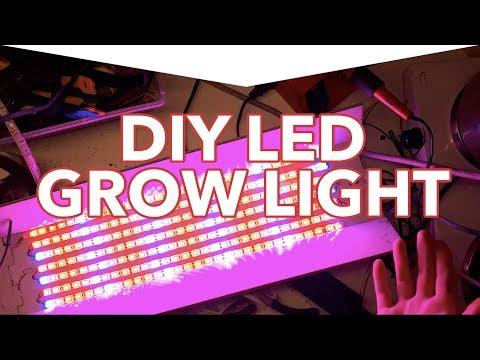 DIY 12V LED Grow Light Build