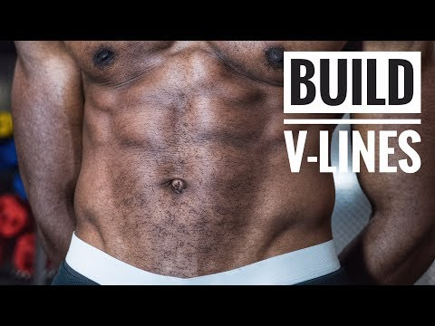 Build V CUT Abs With These 5 Exercises|Get V Line Fast