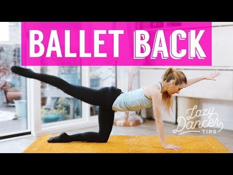 Strong Ballet Back Workout