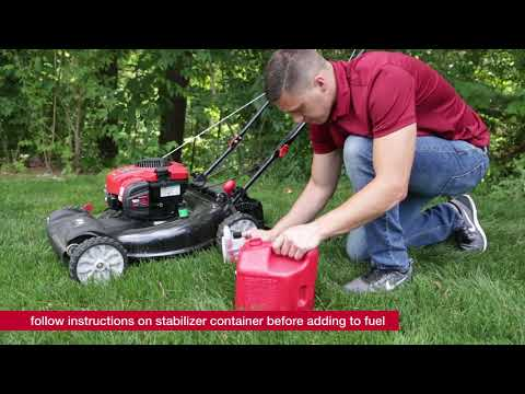 How to prevent fuel related issues with your outdoor power equipment   Get Running with Troy-Bilt