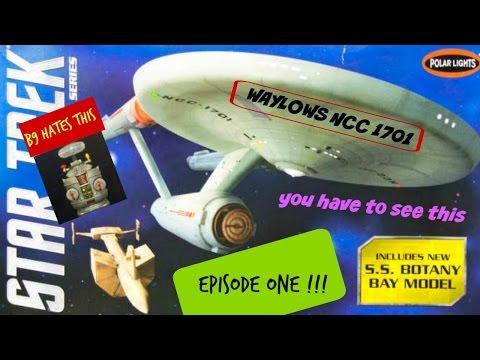 Building the Starship Enterprise VOL. 1