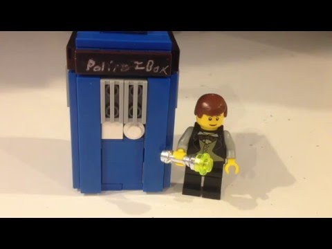 How to build a Lego TARDIS (Interior and Exterior)
