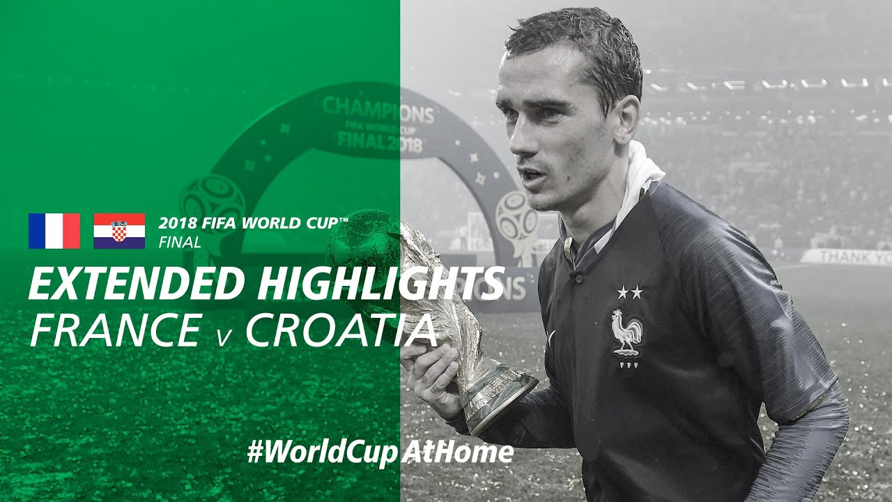 France 4-2 Croatia   Extended Highlights   2018 FIFA World Cup Final
