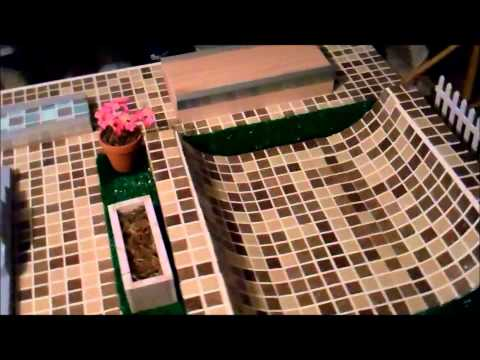 4CFB Fingerboard Park,Tech Deck Cheese and Crackers mini ramp redux : finger skateboard table