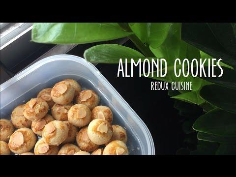 Almond Cookies: CNY Bakes ♡ - Redux Cuisine