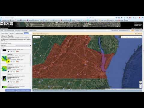 Download Aerial Photos, Satellite Images and Lidar Data from USGS