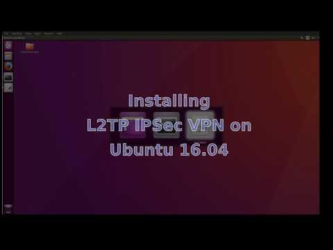 Install and configure L2TP IPsec vpn on Ubuntu 16.04