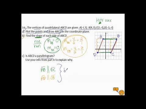 10.1b Parallelograms in Coordinate Geom