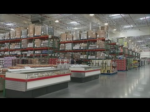 Costco piles products high to lure French consumers