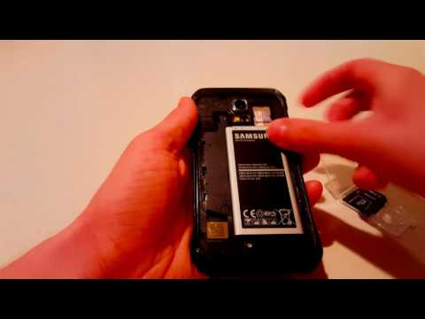Samsung Galaxy S5 Active: How to Insert a Micro SD Card