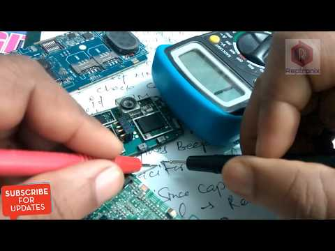 How to check Capacitor using Multimeter | How to repair Capacitor problem in mobile phone board |