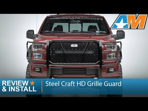 2015-2016 F-150 Steel Craft HD Grille Guard Review & Install