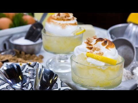 Duff Goldman's Limoncello Meringue Pie Granita