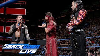 """Randy Orton and Jeff Hardy show each other respect on """"Miz TV"""": SmackDown LIVE, May 1, 2018"""