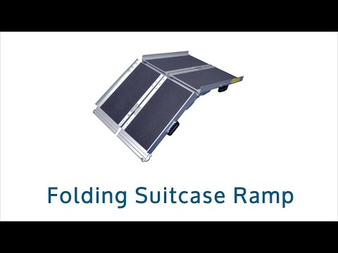 Folding Suitcase Wheelchair Ramp