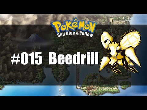 Pokemon Red Blue & Yellow | How to get #015 Beedrill
