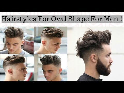 Hairstyles for Men With An Oval Face Shape - Stylish New Haircut's For Men With Oval Face 2018