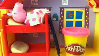 Twinkle Twinkle Little Star Nursery Song for Kids Nursery Rhyme Lullaby - Playdoh & Peppa Pig House