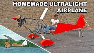 Homemade Ultralight Airplane MK4 - pt1