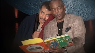 """Goodnight Moon"" as read by LeVar Burton to Neil deGrasse Tyson"