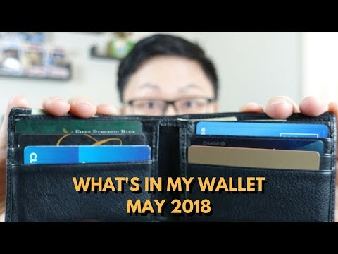 What's in My Wallet? May 2018 Edition