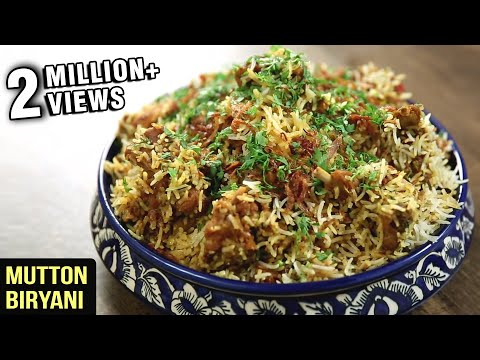 MUTTON BIRYANI | Quick And Easy Recipe | Mutton Recipe | Mutton Biryani By Varun Inamdar