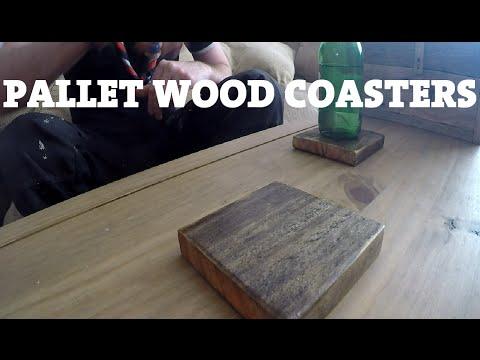Pallet Wood Coasters