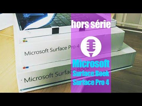 Microsoft Surface Pro 4 & Surface Book (présentation)