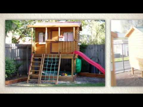 Wooden Cubby Houses, Aussie Style: The Homestead