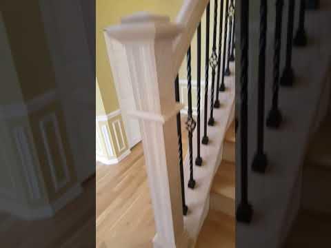 White Oak Stair Railings