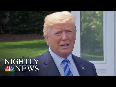 President Donald Trump Breaks Protocol With Jobs Report Tweet | NBC Nightly News