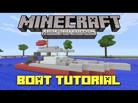 How to make a working speed boat in Minecraft!!!No mods