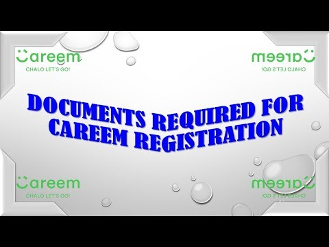 Documents Required for Careem Registration