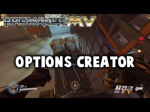 Options Creator Plugin - RPG Maker MV
