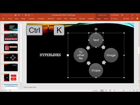 Getting started with Hyperlinks in PowerPoint by Chris Menard