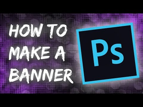 How to make a YouTube Banner in Photoshop 2018