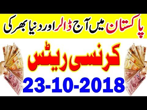 Pakistan Today US Dollar And Gold Latest News | PKR to US Dollar | Gold Price in Pakistan 23-10-18