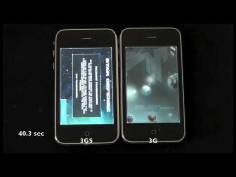iPhone 3G/3GS Speed Comparison
