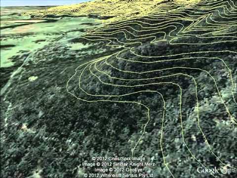 KML Contours in Google Earth Pro