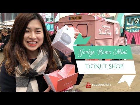 Google Home Mini Donut Shop on Westfield Stratford City