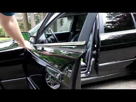 BMW e34 How to Replace Door Window