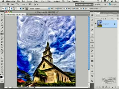 Impressionist Oil Painting with Photoshop CS5 (Part 2)
