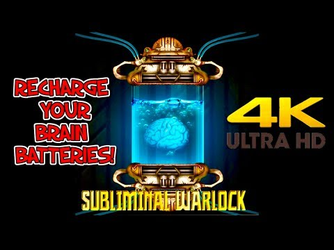 RECHARGE YOUR BRAIN BATTERIES! AMPLIFY RESULTS! SUBLIMINAL AFFIRMATIONS WARLOCK