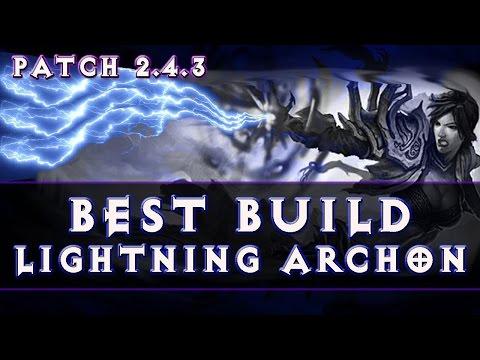 Diablo 3 - Wizard Best Build (Patch 2.4.3) Season 9 Lightning Archon