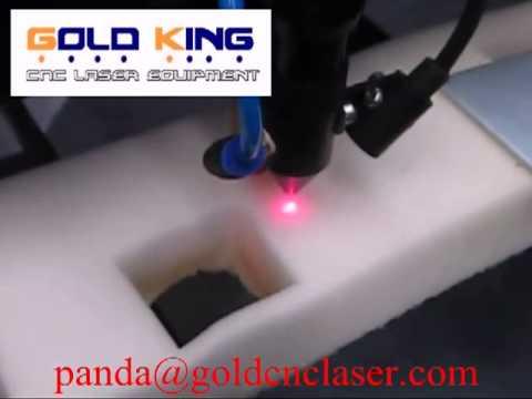 Sponge Cutting machine / Sponge foam laser cutting machine