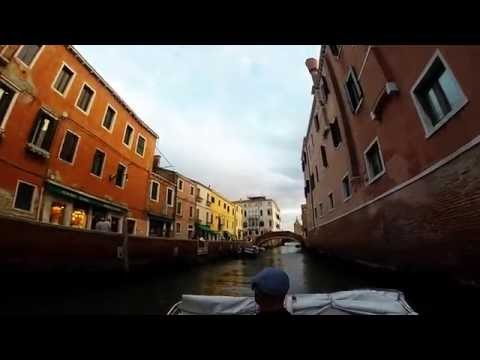 Venice Water Taxi Ride 2016