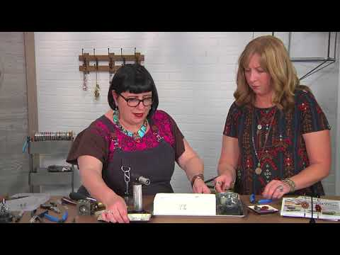 Create artist inspired ear wires on Beads, Baubles and Jewels with Kate Richbourg (2601-2)