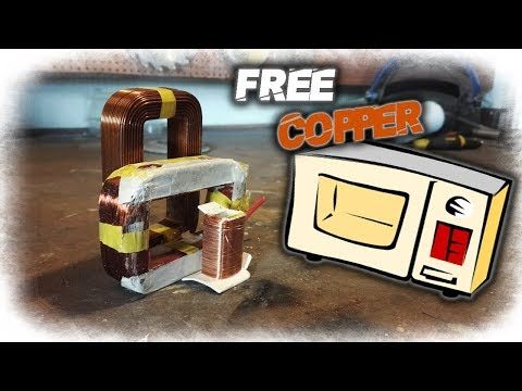How To Get Free Copper For Metal Casting (Microwave)